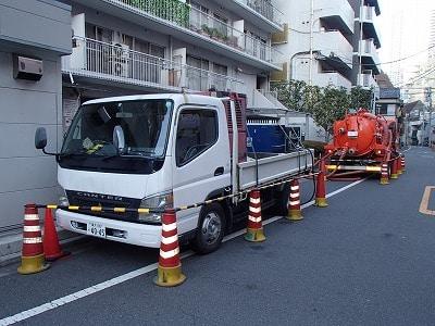 扇矢工事施工事例 マンション排水管PCGライニング