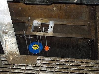 扇矢工事施工例 墨東線洞道内漏油検知装置取替工事(東京都)